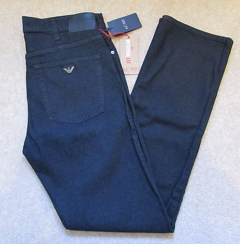 06J31 6D Armani Jeans Regular Fit in Dark Denim (Blu Notte)