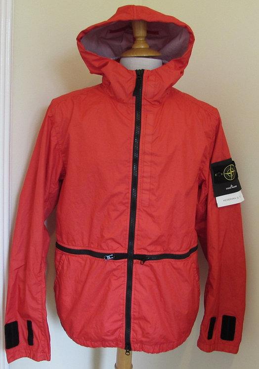 701540123 Stone Island 'Membrana 3L TC'  Hooded Jacket in Red (V0036)