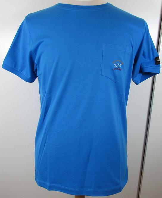 C1P11105SFI Paul & Shark Tee Shirt in Blue (522)