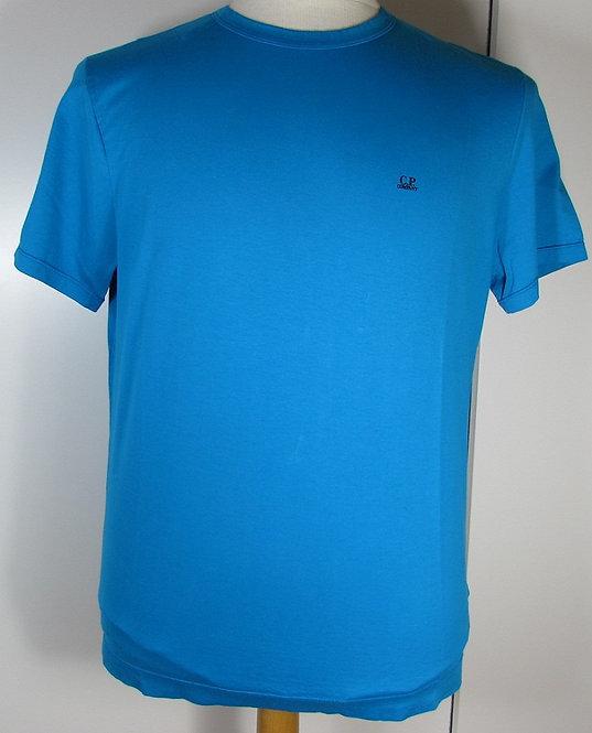 04CMT063A C.P. Company 'Mako Cotton' Tee Shirt in Hawaiian Ocean (829)