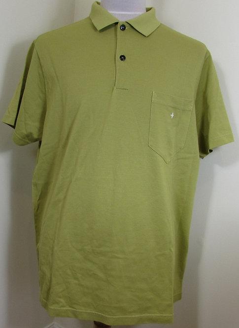 711521112 Stone Island Short Sleeve Polo Shirt in Ochre (V0068)