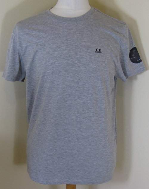 14SCPH02686 C.P. Company Tee Shirt in Grey (M93)