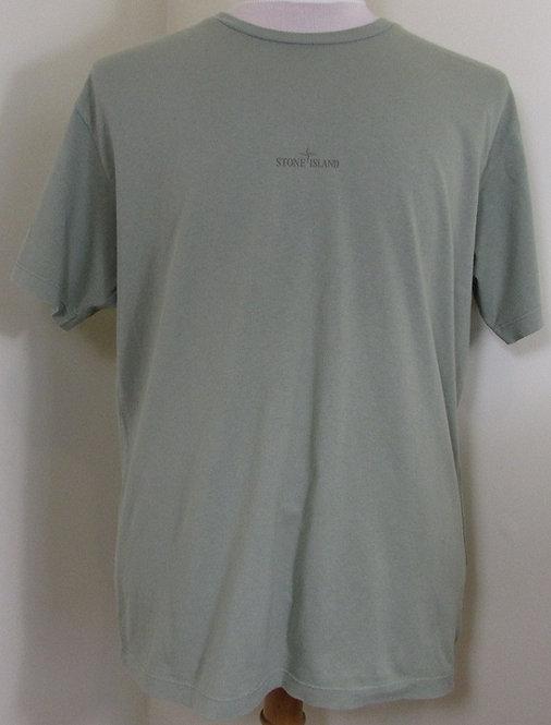 70152NS89 Stone Island Round Neck Tee Shirt in Olive (V0055)