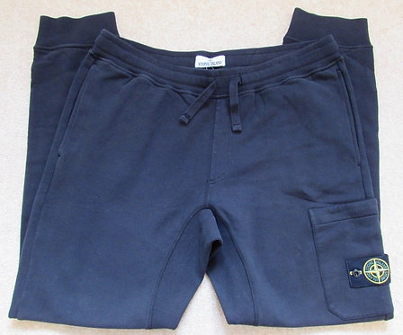 691560320 Stone Island Sweat Pants/Jogging Bottoms in Black (V0029)