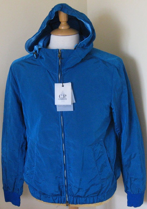 4A60 C.P. Company Hooded Jacket in Blue (V0042).