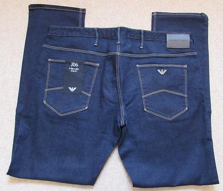 8N1J06 1DLPZ J06 Armani Jeans Slim Fit in Denim (Denimblu) with Contrast Stitch
