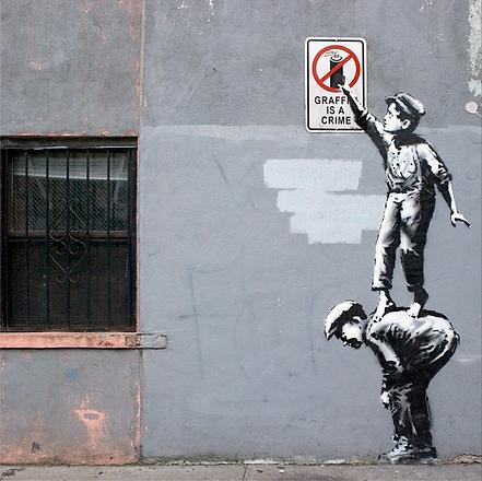 BanksyNYC-Banksy-Graffiti-is-a-Crime-Chi