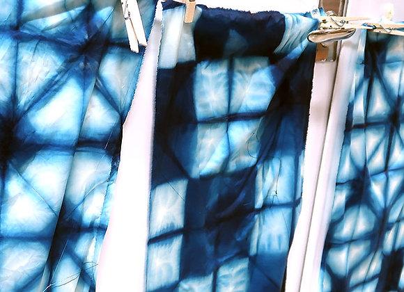 Kampanj: Färga shibori med indigo + tygkasse