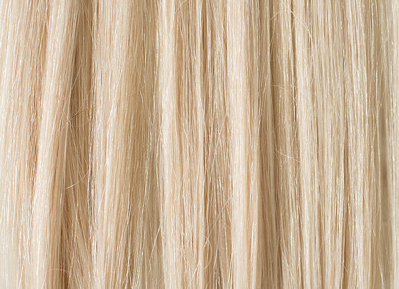 20inch #80 Platinum Blonde Narrow Edge Weft