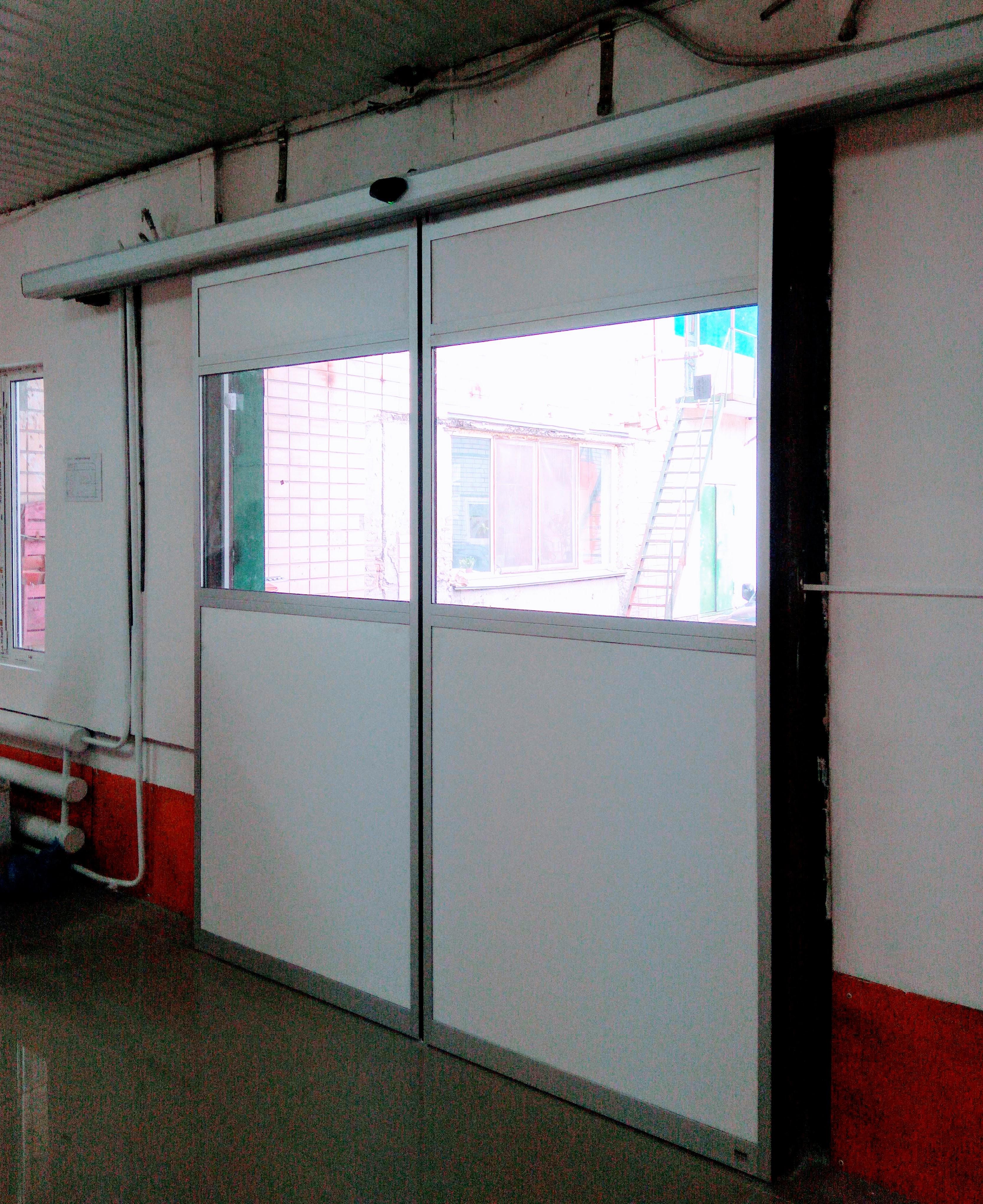 Автоматические ворота для склада 2