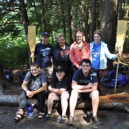 Air Cadet Canoe Camping trip
