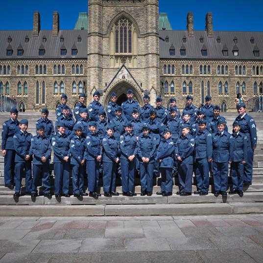325 squadron at Parliament