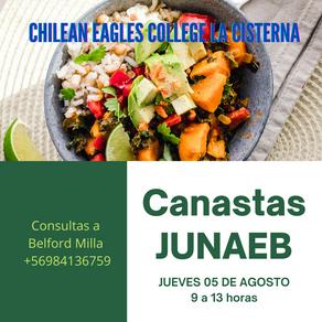 Entrega de Canastas JUNAEB.