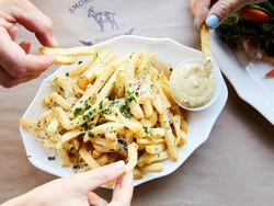 duckfat truffle fries
