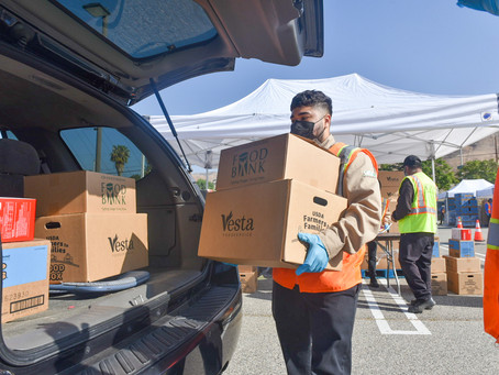 LA Regional Food bank continues to provide resources to families in need