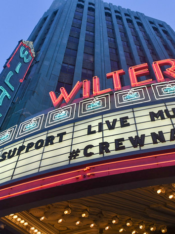 The Wiltern Theatre is one of the iconic landmarks that became a center in Los Angeles this year.