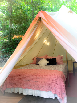 Pinky's Charm Glamping Tent