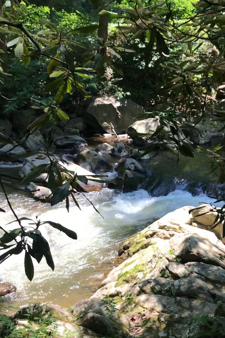 Twin Falls Creek View