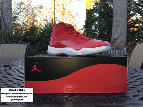 5570cd84973 Jordan 11 Win Like 96 Size: 11 GymRed/Black/White Authenticy Guarantee Each  shoe is carefully inspected for signals of fake sneakers.