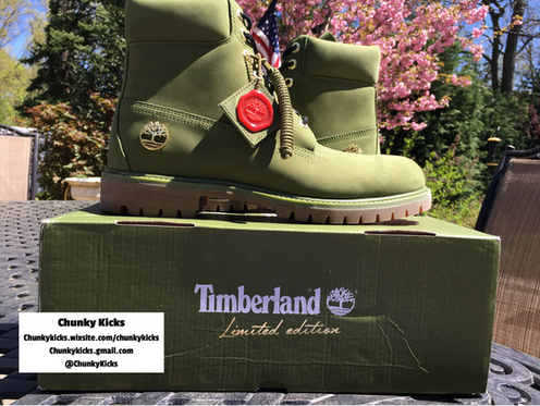 4337470e950 Featuring a Pesto Green Suede upper and a durable rubber sole. Don t play  yourself! You can t go wrong with the DJ Khaled 6 inch Timberlands!