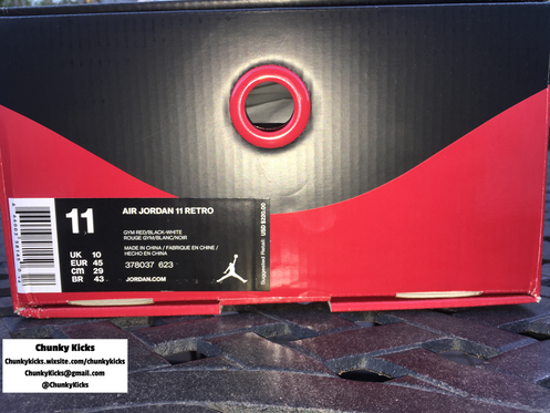 34f7e434be00 Jordan 11 Win Like 96 Size  11 GymRed Black White Authenticy Guarantee Each  shoe is carefully inspected for signals of fake sneakers.