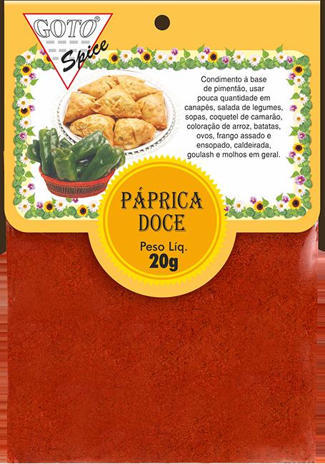 páprica-doce-20g