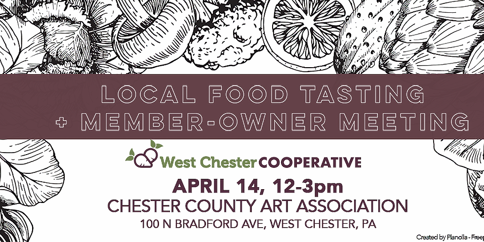WC Cooperative Local Food Tasting + Member-Owner Meeting
