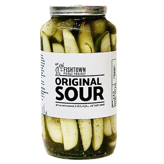 Sour Pickles, 32 oz.