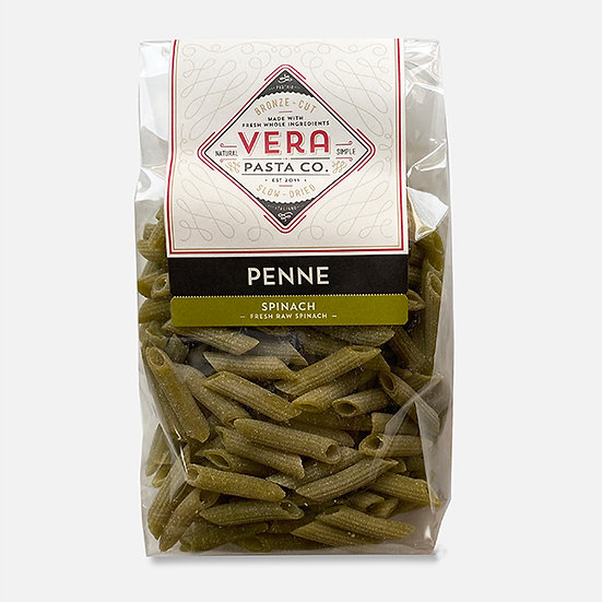 Spinach Penne Dry Pasta, 16 oz.