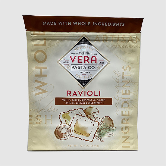 Ravioli - Wild Mushroom and Sage, Frozen