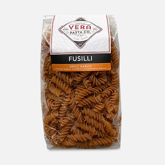 Spicy Roasted Garlic Fusilli Dry Pasta, 16 oz.