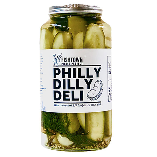 Philly Dilly Deli Pickles, 32 oz.