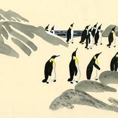 Г. Снегирёв. «Про пингвинов».