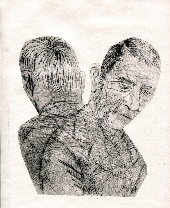 Ф.М. Достоевский. Кроткая. сухая игла, 15Х20, 2021..jpg