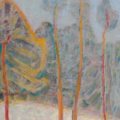 «Сосны на закате». Холст, масло. 1969 г.jpg