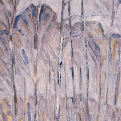 «Берёзы». Холст, масло.1970 г.