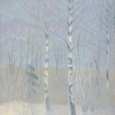 «Туман». Холст, масло. 1992 г.