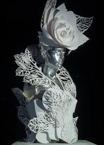 Костюм Розы, Бумага, 50х80, 2017