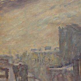 «Из окна». Холст, масло.1968 г.
