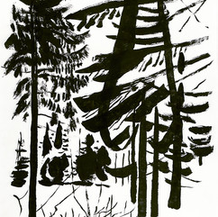 Зимний лес 1989 бум. тушь.jpg