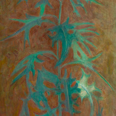 Растение. 2005  холст, масло.jpg