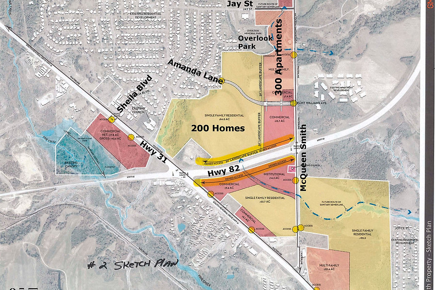Annotated Rezoning Map