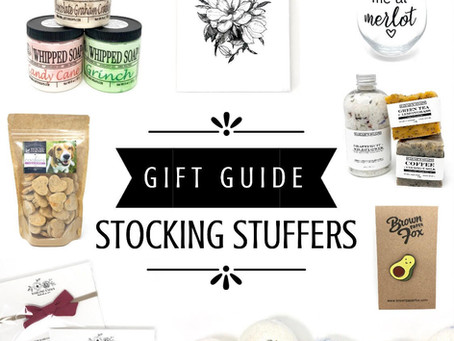 Gift Guide - Stocking Stuffers & Under $20
