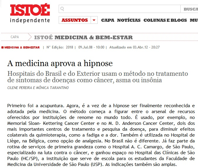 ISTO É - Medicina & Bem Estar