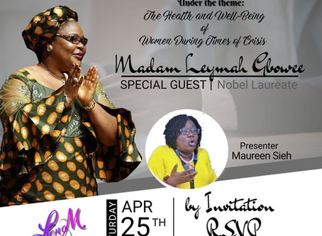 Join Our Webinar Link- An Evening with a Nobel Laureate - Madame Leymah Gbowee