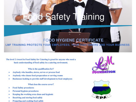 Lena Marshall Foundation (LMF) Training Course
