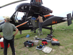 Helicopter BECI system installation (1).