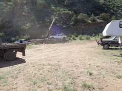Drilling at DA-18-13 (2)