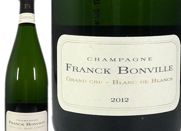 Franck Bonville(フランク_ボンヴィル)_blanc de Blanc Brut 2012(ブランド_ブラン)
