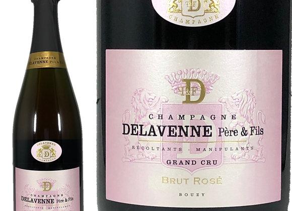 Delavenne pere&Fils(デラヴェンヌ_ペールフェス)Brut Rose Grand Cru(ブリュット_ロゼ)